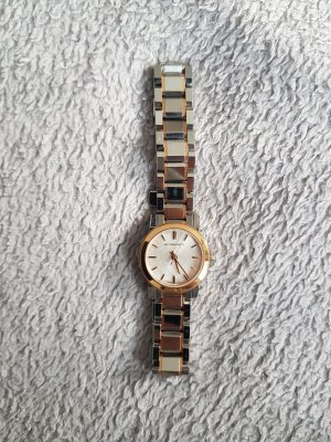 Burberry Watch With Metal Strap multicolored