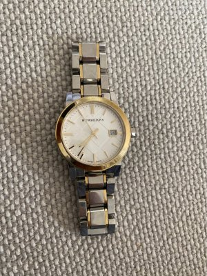 Burberry Uhr Bu9115 Stahl Armband Damenuhr
