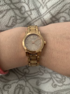 Burberry Analog Watch rose-gold-coloured