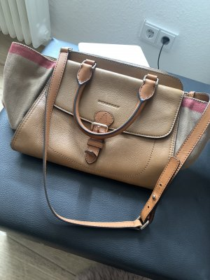 Burberry Sac Baril multicolore cuir