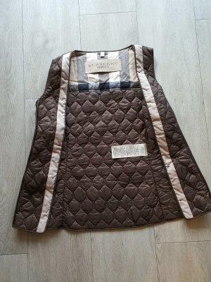 Burberry Brit Gilet matelassé brun-beige clair coton