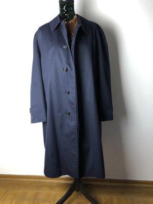 Burberry Oversized jas zwart-donkerblauw