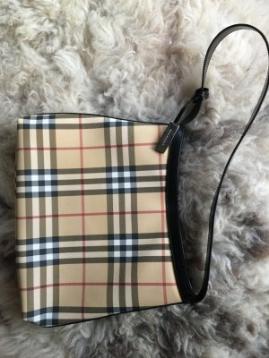 Burberry Shoulder Bag multicolored textile fiber