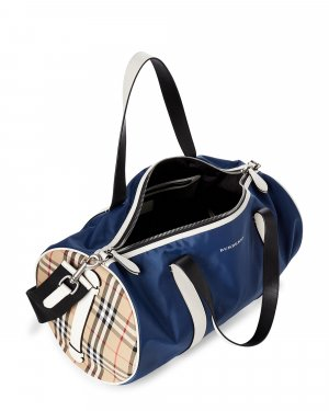 Burberry Weekender Sporttasche Blue Kennedy Barrel / nagelneu