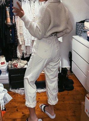 Burberry weiße highwaist Boyfriendjeans Mom Jeans vintage retro 90s