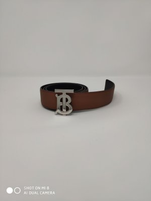 Burberry Reversible Belt black-brown leather