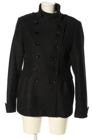 Burberry Winterjas zwart casual uitstraling