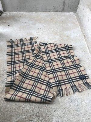 Burberry Sjaal met franjes veelkleurig