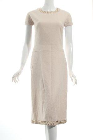 Burberry Wollkleid creme Casual-Look keine Textilangabe