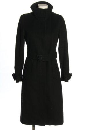Burberry Wollmantel schwarz Casual-Look