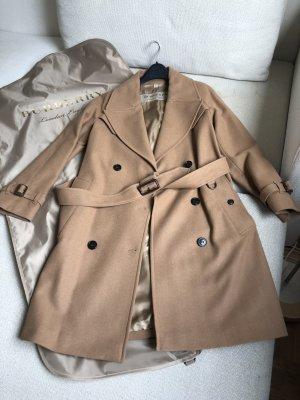 Burberry Cappotto in lana color cammello Lana