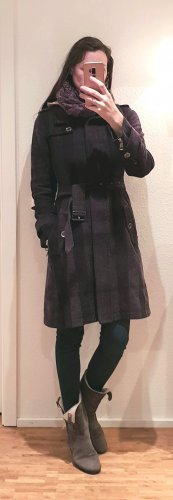Burberry Wollmantel nova check Trenchcoat wintermantel kensington