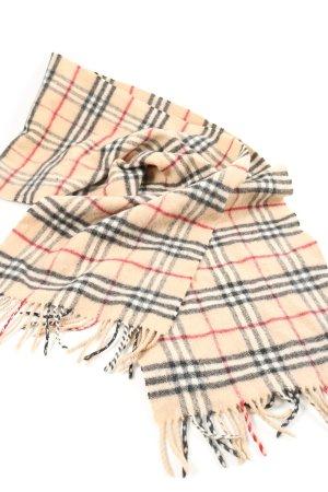 Burberry Écharpe en laine motif à carreaux style décontracté