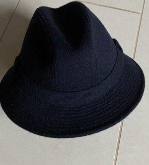 Burberry Wełniany kapelusz czarny