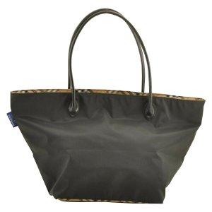 Burberrys' Sac fourre-tout noir fibre textile