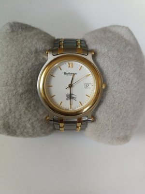 Burberrys of London Watch With Metal Strap silver-colored-gold-colored