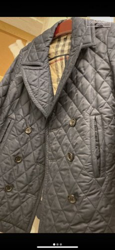 Burberry Duffel Coat dark blue