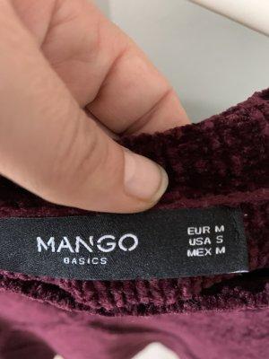 Burgunderroter Pulli Mango
