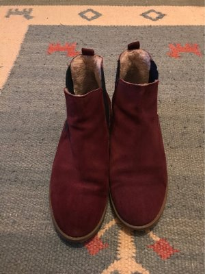 Short Boots multicolored leather
