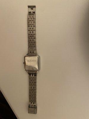Burkhardt Analog Watch silver-colored