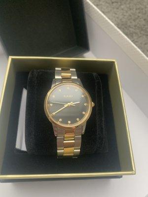 Burker Horloge met metalen riempje veelkleurig