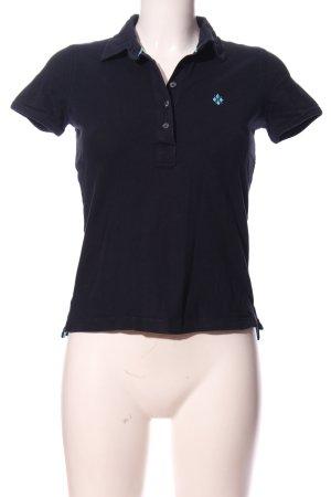 Burlington Polo-Shirt schwarz Casual-Look