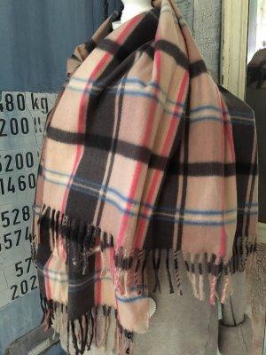 Sjaal met franjes veelkleurig