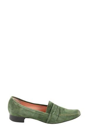Burresi Pantoffels groen zakelijke stijl