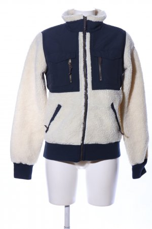 Burton Flight Jacket cream-blue casual look