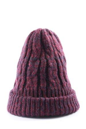Burton Häkelmütze pink meliert Casual-Look