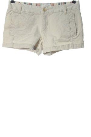 Burton Krótkie szorty w kolorze białej wełny W stylu casual