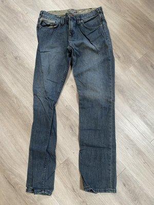 Burton Jeansy o obcisłym kroju niebieski