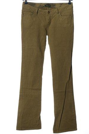 Burton Jeans flare kaki style décontracté