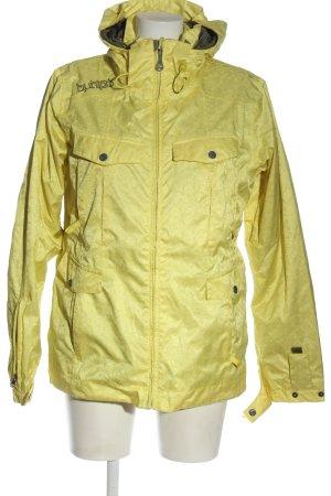 Burton Giacca con cappuccio giallo pallido stile casual