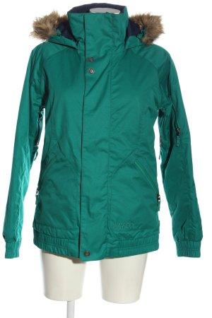 Burton Veste à capuche turquoise style décontracté