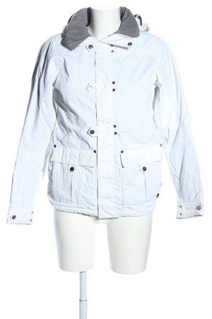 Burton Veste à capuche blanc style décontracté
