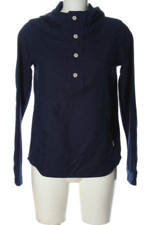 Burton Koszulka z kapturem niebieski W stylu casual