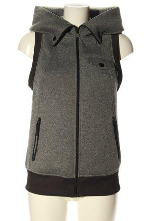 Burton Capuchon vest lichtgrijs gestippeld casual uitstraling