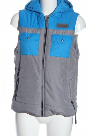 Burton Hooded Vest light grey-blue casual look