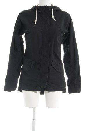 Burton Krótka kurtka czarny-biały W stylu casual