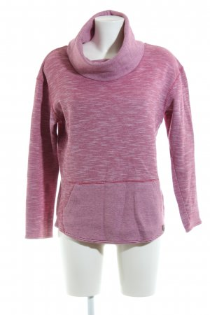Burton Turtleneck Sweater pink flecked casual look
