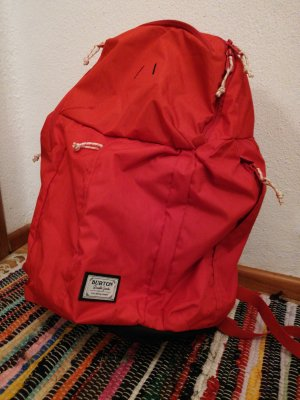 Burton School Backpack brick red