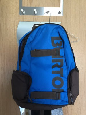 Burton School Backpack dark brown-blue