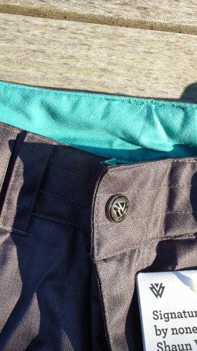 Burton Pantalon de sport gris-turquoise