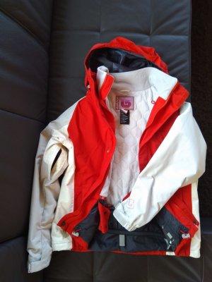 Burton Outdoor Jacket brick red-natural white