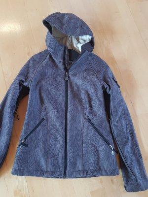 Burton Softshell Jacket taupe-grey lilac polyester