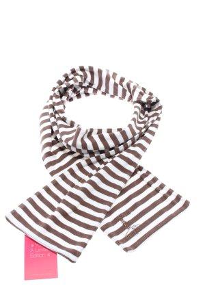 Burton Chal veraniego marrón-blanco estampado a rayas look casual