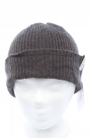 Burton Knitted Hat light grey cable stitch casual look