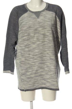Burton Maglione lavorato a maglia grigio chiaro puntinato stile casual