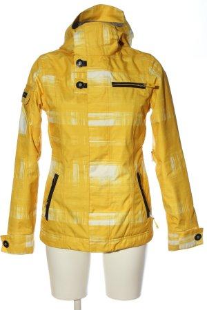Burton Veste mi-saison jaune primevère motif abstrait style décontracté